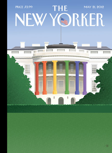 New Yorker Cover, May 21, 2012, Bob Staake for the New Yorker