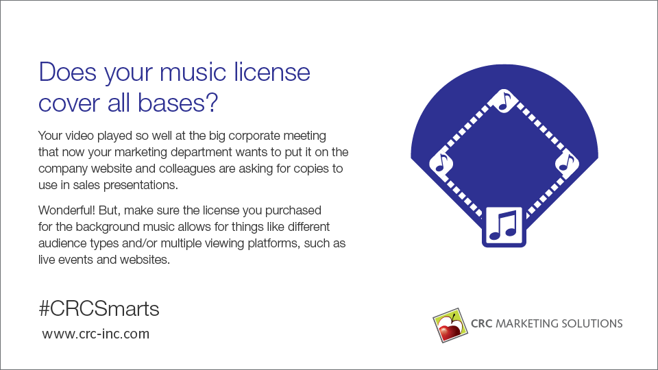 Does your music license cover all the bases?